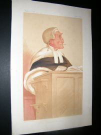 Vanity Fair Print 1876 Anthony Cleasby, Legal